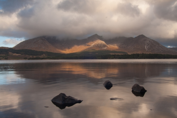 Connemara Lough (Canon 40D 1/8 sec @ f/18)