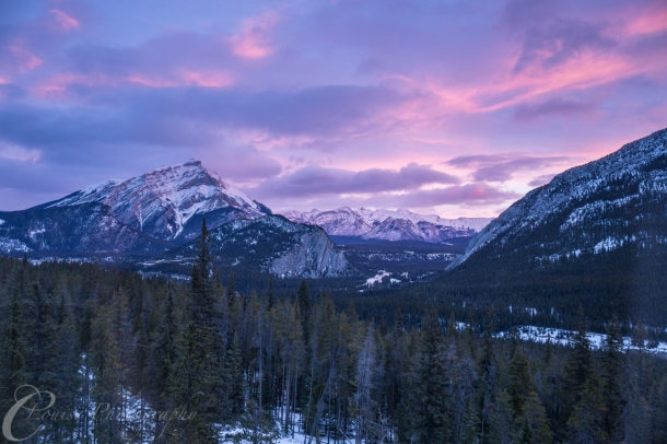 First view of Banff 2014 (Canon 6D, 1/5sec @ f/11)